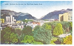 Ogden UT City Hall Park Postcard p3230