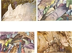 Click here to enlarge image and see more about item p3257: Crystal Cave PAPostcard Lot 6