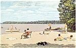 Indian Lake State Park MI Postcard