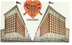 Click here to enlarge image and see more about item p3316: Hotel Rosslyn Los Angeles CA Postcard p3316