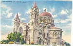 St Louis Missouri New Cathedral Postcard