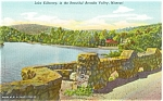 Click here to enlarge image and see more about item p3340: Lake Killarney, Missouri Postcard p3340