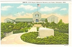 Click here to enlarge image and see more about item p3343: Will Rogers Memorial Claremore OK Postcard