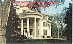 Arbor Lodge Nebraska City NE Postcard