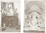 Click here to enlarge image and see more about item p3392: Reading PA Museum Postcard Lot of 4