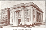 Ephrata PA National Bank Postcard p3393