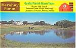 Hershey Farm Lancaster County PA Postcard