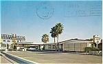 Click here to enlarge image and see more about item p3460: Ghost Ranch Motel  AZ Postcard