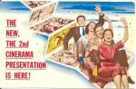 2nd Cinerama Presentation Advertising Postcard p35052