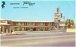 Click here to enlarge image and see more about item p3517: Barstow Travelodge, Barstow, CA Postcard