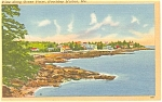 Click here to enlarge image and see more about item p3524: Boothbay Harbor Maine Postcard p3524
