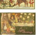 Click here to enlarge image and see more about item p35302: Repro of Old Christmas Postcard p35302