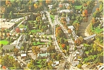 The Green Woodstock  Vermont  Postcard