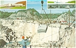 Click here to enlarge image and see more about item p3610: Rock of Ages Quarry  Vermont  Postcard p3610