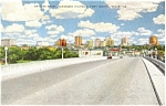 Skyline Fort Worth Texas Postcard p3617