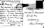 Click to view larger image of Montauk LI NY Cliffs postcard p36543 (Image2)