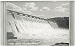 Click here to enlarge image and see more about item p3669: Grand Coulee Dam Washington  Postcard