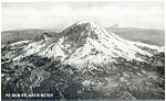 Mt Rainier Washington  Postcard