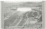 Grand Coulee Dam Engineer s CIty WA  Postcard p3672
