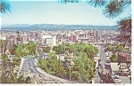 Downtown Spokane Washington Postcard p3686