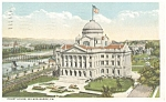 Court House Wilkes Barre PA  Postcard