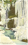 Glen of the Pools Watkins Glenn NY  Postcard p3702