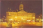 Click here to enlarge image and see more about item p3738a: Royal Palace Amsterdam Holland Postcard p3738a