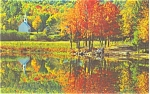 Appalachian Autumn Scene Virginia Postcard p3762