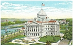 Court House Wilkes Barre PA Postcard 1932