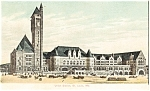 Click here to enlarge image and see more about item p3800: Union Station St Louis MO Postcard