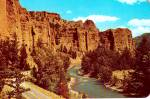 Click to view larger image of The Palisades on Cody Road To Yellowstone National Park P38012 (Image1)