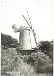 Click here to enlarge image and see more about item p3802: Dutch Windmill Golden Gate Park Photo