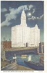 Wrigley Building Chicago IL  Postcard p3834