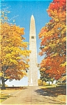 Click here to enlarge image and see more about item p3877: Bennington VT Battle Monument Postcard p3877