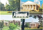 Wheaton College Illinois Postcard p3897