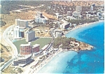 Coastline Palma NO Mallorca Spain Postcard p3911