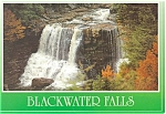 Click here to enlarge image and see more about item p3915: Blackwater Falls WV Postcard