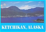 Click here to enlarge image and see more about item p3923: Ketchikan Alaska Postcard