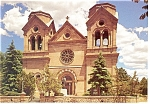 Cathedral of St Francis of Assisi, NM Pcard