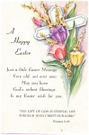 Click here to enlarge image and see more about item p3960: A Happy Easter Postcard