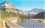 Click here to enlarge image and see more about item p3979: Columbia Icefield Canadian Rockies Postcard