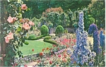 Click here to enlarge image and see more about item p3983: Butchart Gardens Victoria BC Postcard p3983