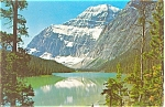 Click here to enlarge image and see more about item p3987: Mt Edith Cavell Canada Postcard p3987