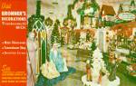 Click here to enlarge image and see more about item p40586: Frankenmuth Michigan Bronner s Decorations Postcard P40586