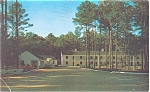 Whispering Pines Motel, Accomac VA Postcard