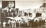 Lion Grotto San Francisco  Pcard Real Photo