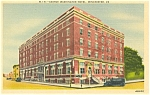 George Washington Hotel VA  Postcard