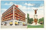 Francis Scott Key Hotel MD  Postcard p4119
