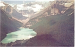Click here to enlarge image and see more about item p4126: Lake Louise Alberta Canada Postcard
