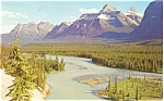 Click here to enlarge image and see more about item p4142: Athabasca Viewpoint Canada Postcard p4142